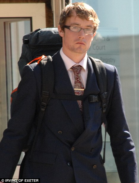 Matthew Hampton, who fondled complete strangers in shops in Seaton, Devon, is due to start a Masters degree in history at Cambridge next year