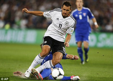 No move: Klose claims he rejected the opportunity to join Tottenham
