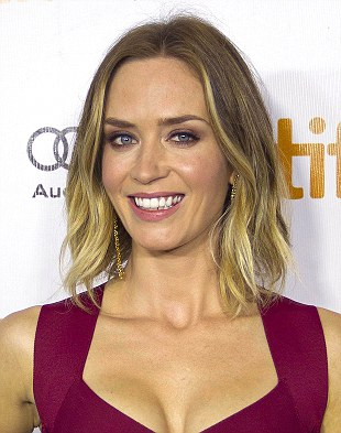 Emily Blunt is learning martial arts and has been out on the shooting range
