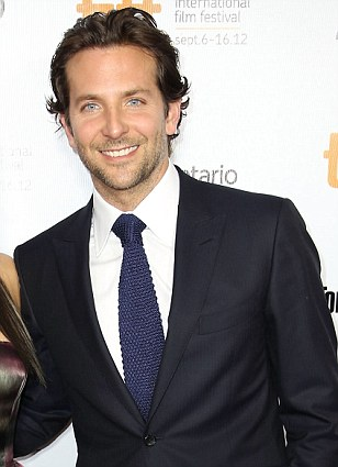 The Hangover star Bradley Cooper ¿ who appears with her in the new film The Silver Linings Playbook