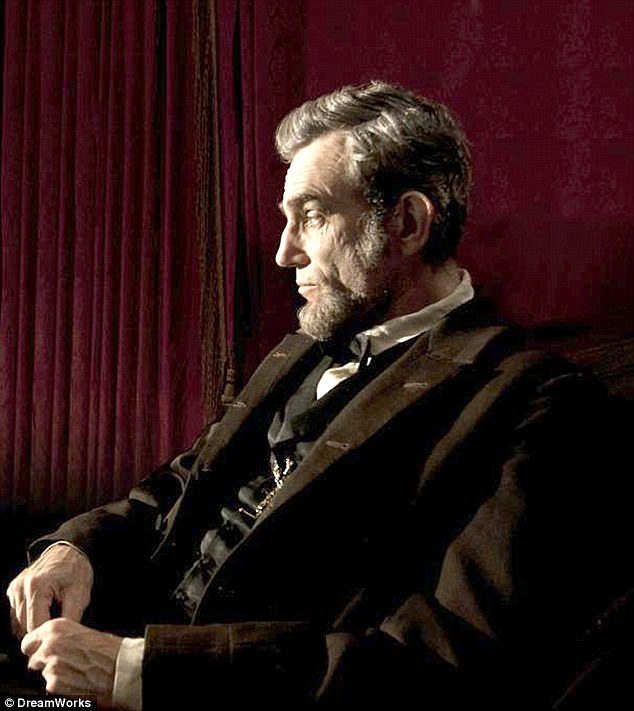 First promotional image: Movie representative released this shot of Daniel Day-Lewis portraying President Lincoln last month