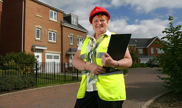 Building funds: House sales adviser Shirley Drinkwater is saving into an Isa through her employer
