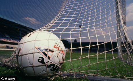 Own goal: The drug-taking footballers have not been named but one was a senior first-team player