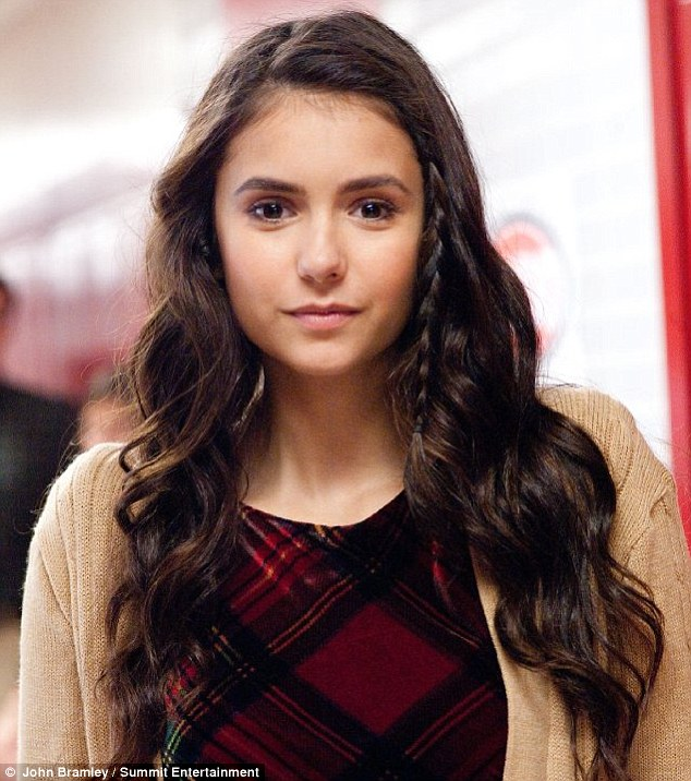 School girl chic: Nina plays older sister Candace in The Perks of Being a Wallflower