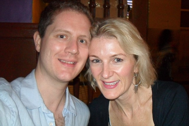 Nougar no more: Daily Mail writer Kathryn Knight, 40, with her lover-turned-husband Duncan