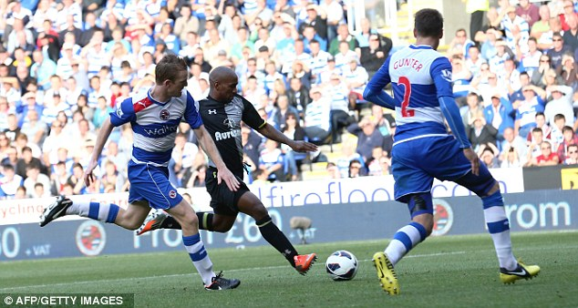 Blistering start: Defoe has been in the goals so far this campaign
