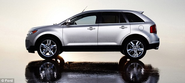 Recall: Ford Motor Co. is recalling about 5,500 of its 2012 Edge vehicles because of concerns that the fuel line could leak and potentially cause a fire