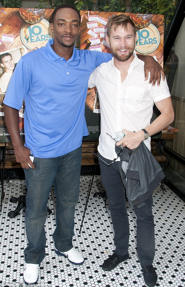 Bromance: Anthony Mackie and Brian Geraghty