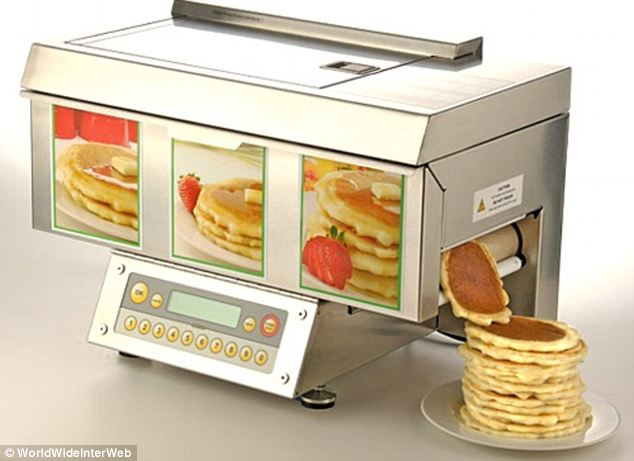 This pancake machine could actually be a hidden gem among some of the more useless products, saving on mess in making what is a staple part of the all-American diet. And they stack themselves - genius!
