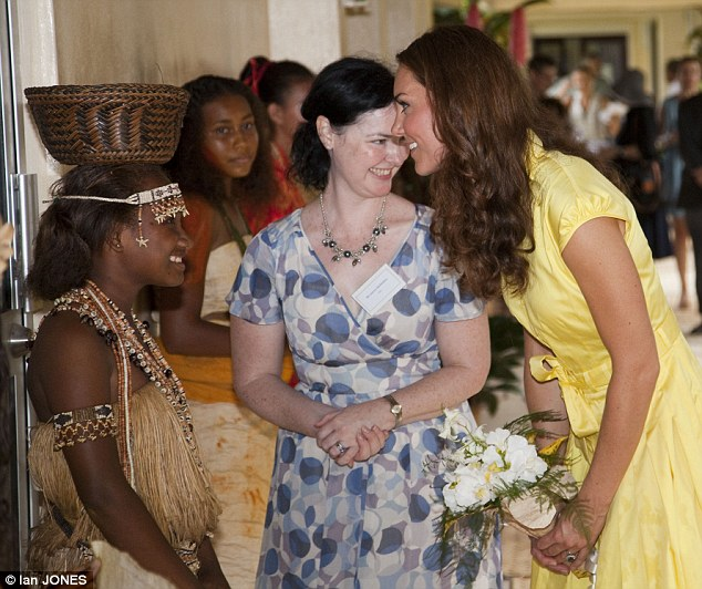 Family: Kate revealed how family life was very important to her especially now she was married during a half hour chat with about 40 women from the Young Women's Parliamentary Group