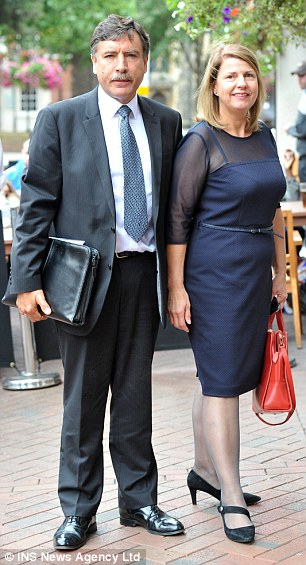 B&B owners Susanne Wilkinson, pictured with husband Francis who refused to let them share a room