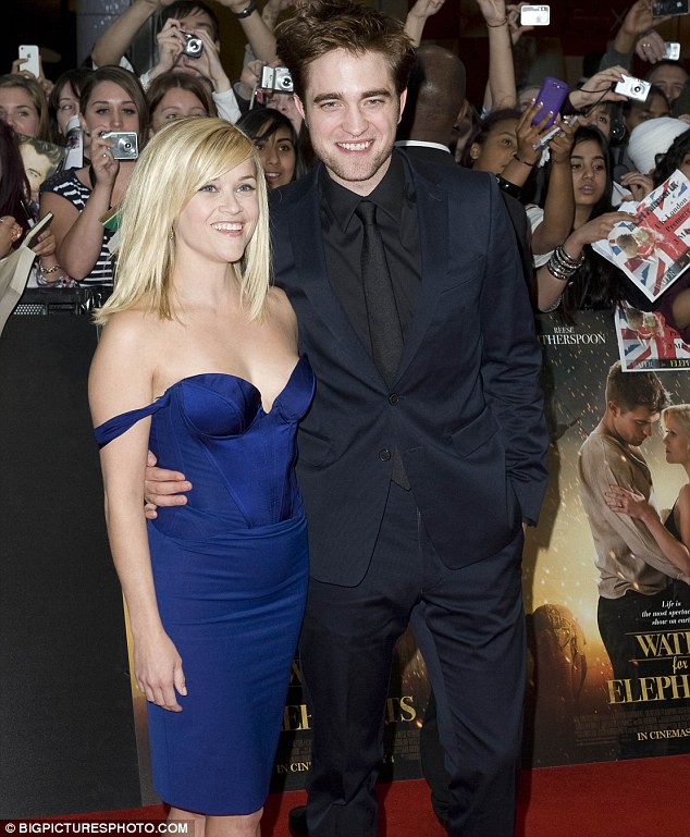 Close: The actress offered up the property to her Water For Elephants co-star Robert Pattinson in July