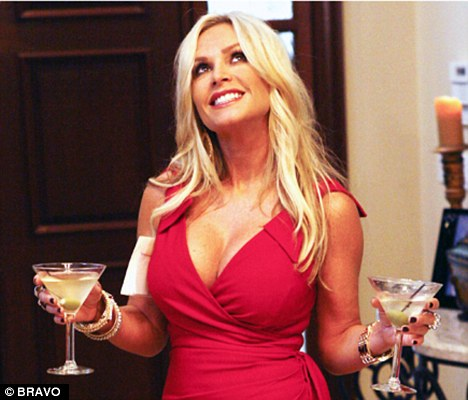 Drunken drama: Tamra Barney questions her reasons for leaving the series