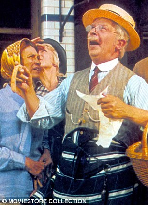 A nicer class of people: Dad's Army's Corporal Jones in his day job as a butcher