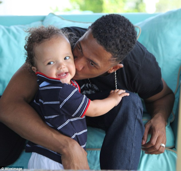Dem Babies: Mariah Carey and Nick Cannon offered a candid glimpse into their private home life with their fraternal twins in recently-released snaps