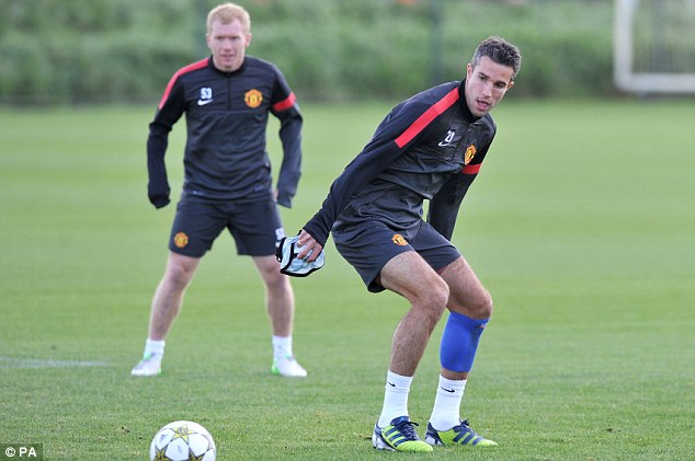 So too should star striker Robin van Persie after recovering from an injury sustained on international duty