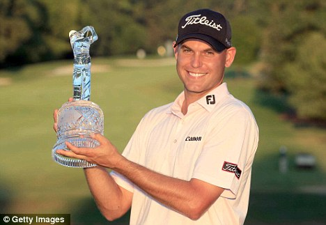 In it to win it: American Bill Haas was victorious at the Tour Championship last year
