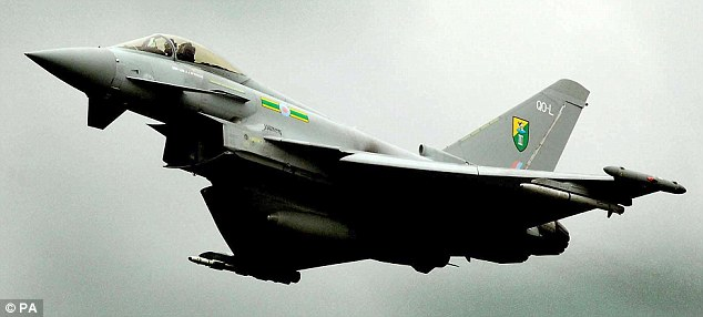 Export potential: The al-Yamamah deal to supply Typhoon aircraft to Saudi Arabia is worth billions