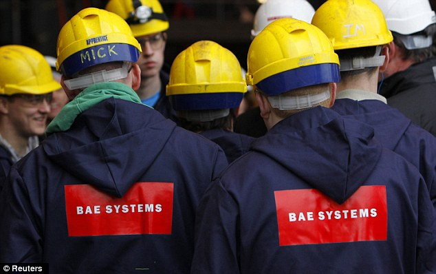 Uncertain future: BAE Systems is engaged in merger talks with European defence giant EADS