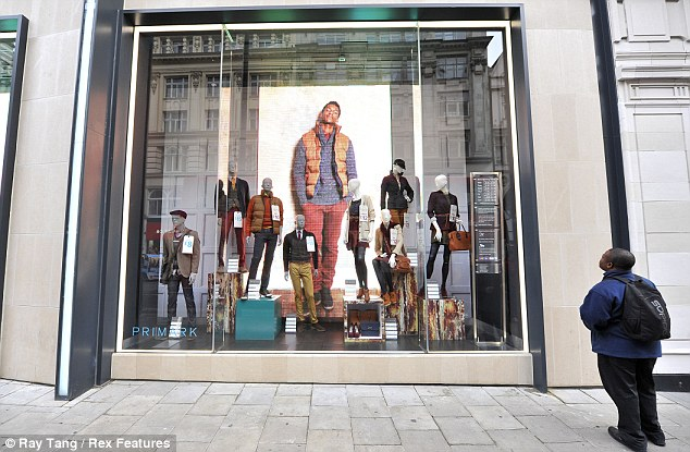 Strong sales: Primark's UK business reported a 'particularly strong' summer of trading