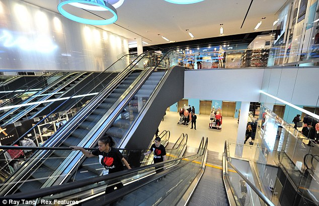 Mammoth unit: The flagship store has 1,443 employees, 111 cash desks and 92 fitting rooms