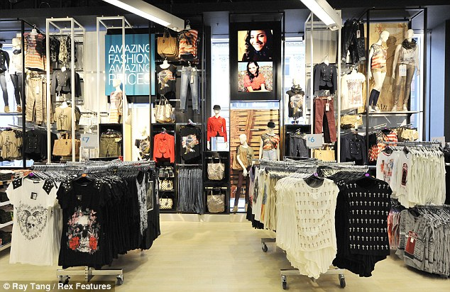 Going from strength to strength: Primark saw revenues rise by 17% over its current financial year