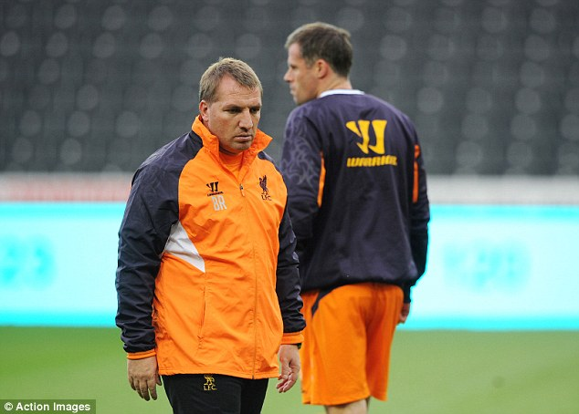 Ready lads: Liverpool will be facing Young Boys at 18.00