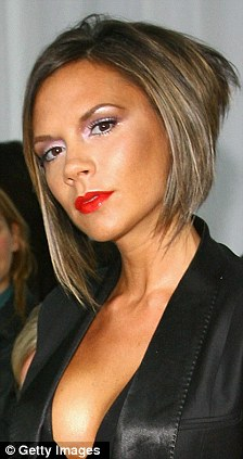 Victoria Beckham and Jessie J have both rocked the sharp bob look before
