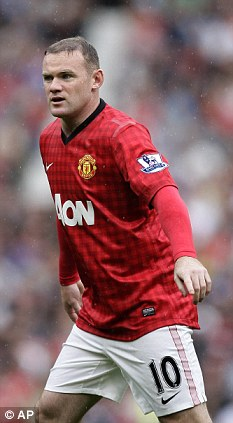 No rush: Wayne Rooney will not feature at Liverpool on Sunday but could return next week