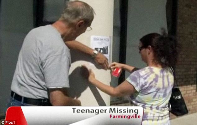 They tacked up posters and created pages on social media, desperately spreading the word about the missing teen