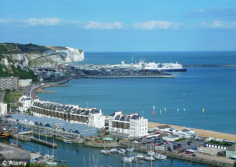 Cross-channel trip: The investigation was launched after Lewinson was caught with the substance at Dover docks in Kent