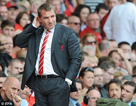 Plenty to ponder: Liverpool are winless in the Premier League