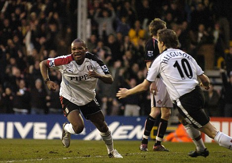 Premier class: Collins John made his name for Fulham in the Premier League