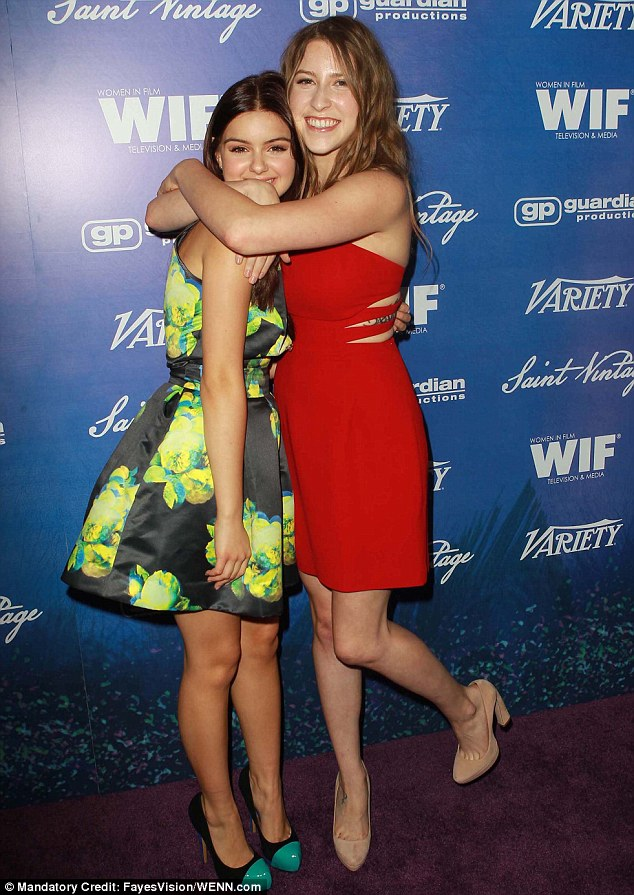 Let's hear it for the girls: Ariel Winter and Eden Sher