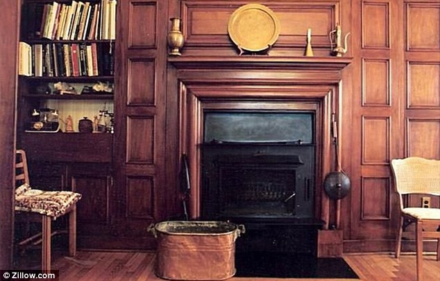 Fireplace: The mansion has a total of nine fireplaces to keep residents warm during the chilly winter