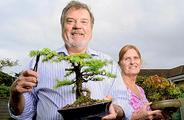 Growing hopes: Norman and Julia Vanstone have opted for Tom Dobell's M&G Recovery fund that takes aim at unloved firms.
