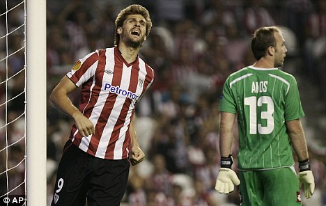 Frustation: Fernando Llorente does not want a new deal at Athletic Bilbao