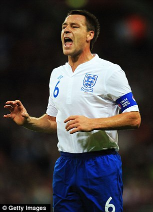 'Untenable': Terry criticised the FA in a statement