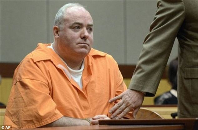Michael Skakel is serving 20 years to life for fatally beating Martha Moxley with a golf club in Greenwich when they were 15-year-old neighbors. Pictured here in court in January