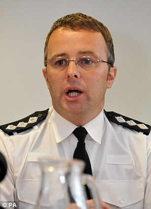 Appeal: Chief Inspector Jason Tingley urged teacher Mr Forrest and Megan (right) to contact the police and said he would get them safely get them back to Britain