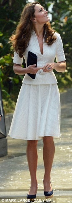 With a bit of practice, you could soon have the smooth, confident gait of the Duchess of Cambridge.