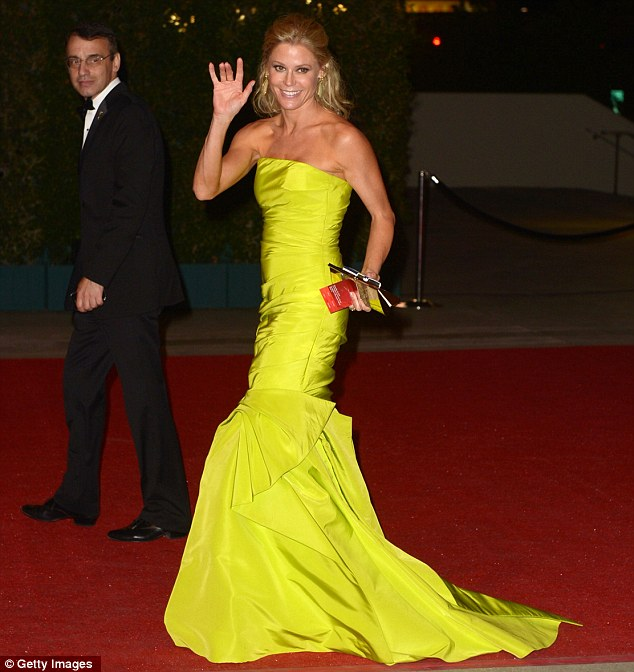 Success: Modern Family star Julie Bowen won the best supporting actress in a comedy category