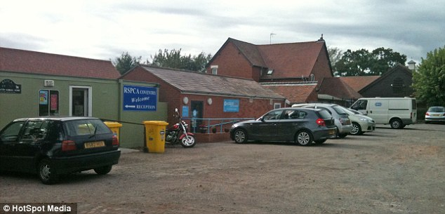 RSPCA centre in Coventry