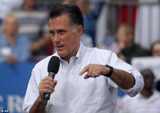 Criticism: Mitt Romney argued that Obama should have agreed to meet Israel's Benjamin Netanyahu