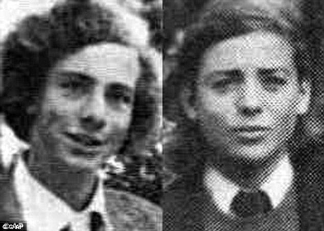 Thomas Skakel, left, was going out with Martha Moxley in 1975 and young Michael, right, was alleged to be jealous