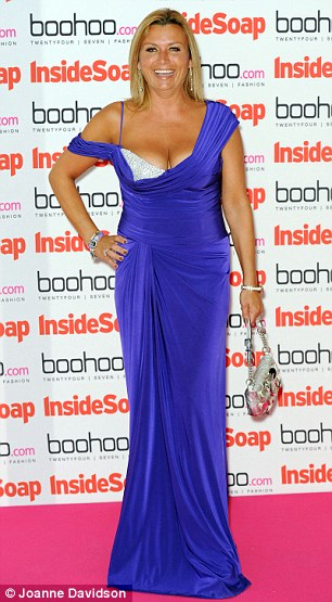 Getting it wrong: Chelsee Healey (L) and Tricia Penrose suffered style mishaps as they hit the red carpet at the 2012 Inside Soap Awards on Monday evening