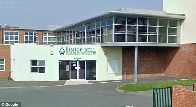 Warning: Friends of the teenager said they reported their concerns to another teacher at Bishop Bell Church of England School
