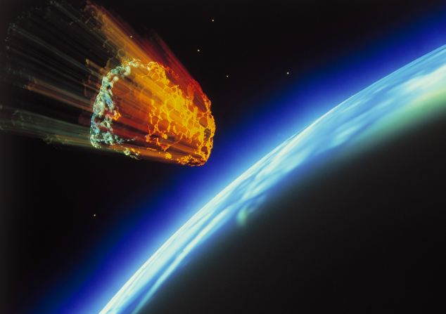 Scientists believe life may have come to earth on a rock fragment from another planet.