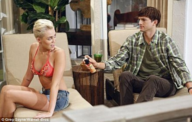 Can you do my back? Missi embarks on an intensive flirting regime with Walden in the episode