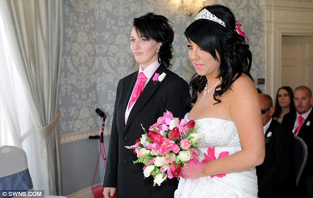 After a heart to heart chat with Sarah, Kerry suddenly realised why she had never been able to settle down with Mr Right - because she had been looking for Mrs Right